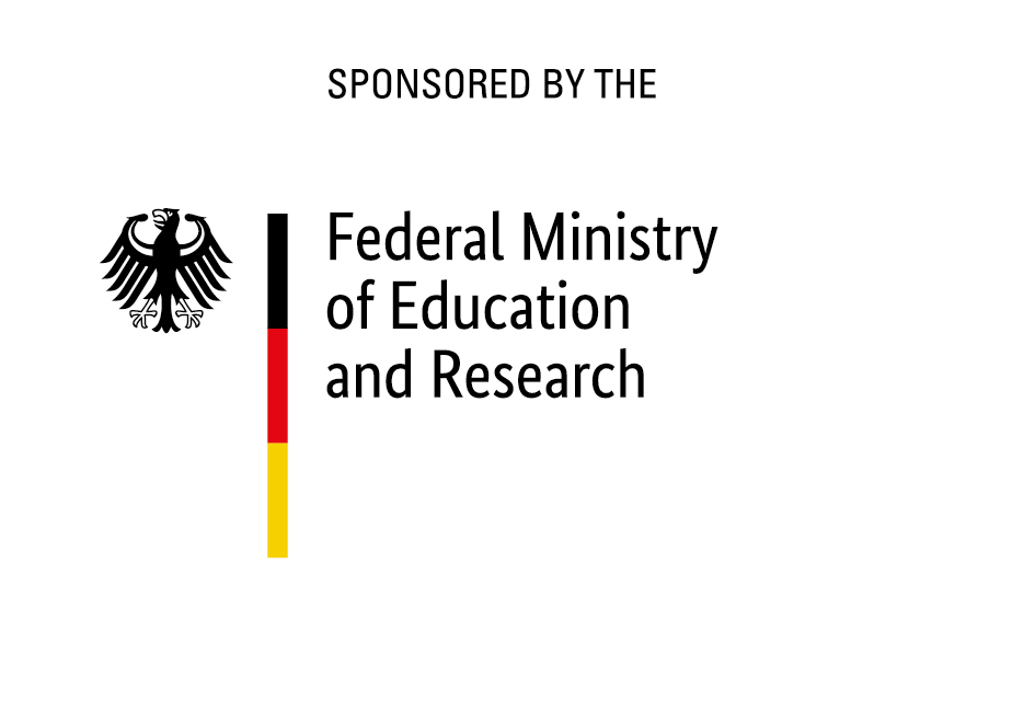 Official log for sponsorship by the German Federal Ministry for Education and Research