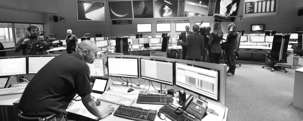 photo of the ESA control room