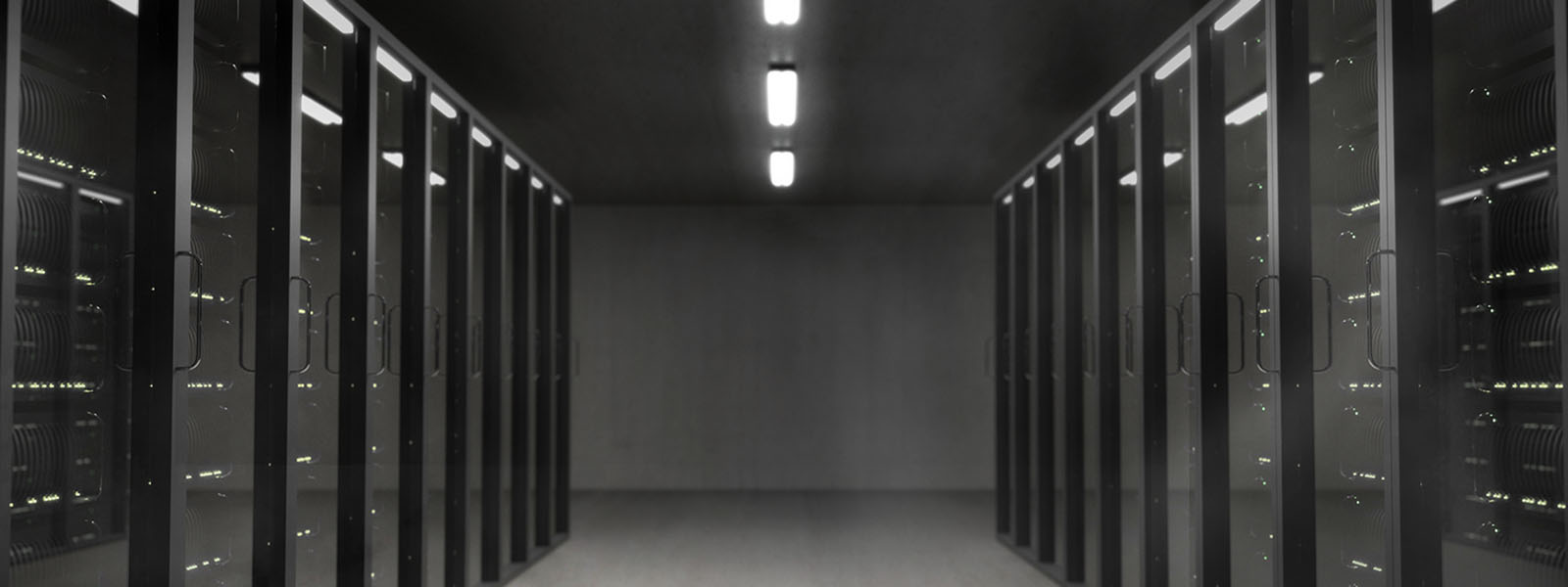 photo of a server room